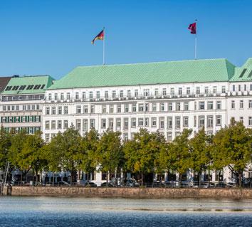 Hamburg, Fairmont Vier Jahreszeiten