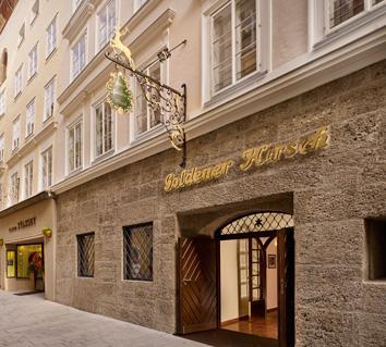 Salzburg, Goldener Hirsch