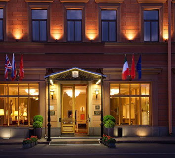 St. Petersburg, Hôtel Angleterre